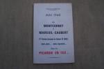 Mai 1940 de Montcornet à Mareuil-Caubert 4ème Division Cuirassée du Général De Gaulle sans peur... sans reproche... dans la Picardie en feu.... ...