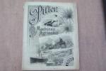 """Maison Th. PILTER, 24 Rue Alibert à Paris: Machines agricoles 1900. Faucheuses et moissonneuses """"WOOD"""", Rouleau à vapeur FOWLER, Locomotives ..."""