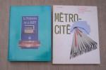 METRO DE PARIS, METROPOLITAIN, RATP: Le Cinquantenaire du Métropolitain de Paris, 18 pages, illustré d'une pointe sèche d'André JACQUEMIN. Le ...