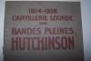 Les grandes applications des bandes pleines HUTCHINSON Guerre 1914-1918. Usines à Langlée(Loiret) et Puteaux. Mortier de 220 Schneider, canon de 155 ...