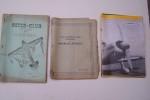 Club Aéronautique Français des MODELES REDUITS (1934): Bulletins N° 1, 2, 4, 6. Inter-Club de l'Ouest des Modèles Réduits (1938-39): Numéros 1, 2, 3. ...