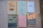 AVIATION: AERONAUTIQUE: TECHNIQUE: Commandant P. RENARD: Le vol mécanique, les aéroplanes, Flamlmarion, 1912. Capitaine du Génie DUCHÊNE: L'aéroplane ...