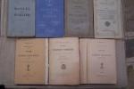 MARINE: J. MARTIN: Traité de droit maritime administratif & commercial, Le Lagadec, 1909. E. PERRIN: Nouvelles tables destinées à abréger les calculs ...