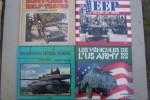 Engins blindés Français (1996), JEEP un défi au temps (1981), Les véhicules du débarquement (1994), DODGE (1993), GMC (1978), Les véhicules de l'US ...