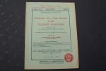 L'Industrie des Vies Ferrées et des Transports Automobiles. Fondée en 1907 par l'UNION DES TRAMWAYS DE FRANCE. M. BROCA, Président, M. COSTE, ...