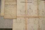 """SABRETACHE & ORIFLAMME: Contre-Torpilleurs type """"Claymore"""": Distribution générale et Emménagements. Coupes transversales.."""