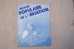 REVUE POPULAIRE DE L'AVIATION Organe Officiel de la Fédération Populaire des Sports Aéronautiques..