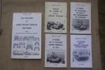 LES DOSSIERS DES VEHICULES SOVIETIQUES: N°3 Les camion, 1992. N° 4: Les véhicules spécialisés, 1993. N°10 Les véhicules militaires, 1994. N°14 et 19 ...