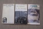 AUTOMOBILE: USINES: Sylvie SCHWEITZER: Des engrenages à la chaîne, les usines Citroën 1915-1935, Presses Universitaires de Lyon, 1982. Alain JEMAIN: ...