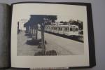 COMPAGNIE DES TRAMWAYS DE TUNIS: Photographies remises à la Direction des Travaux Publics pour l'Exposition du Lycée Français de Londres 1952, sur ...