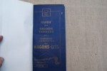 GUIDE DES GRANDS EXPRESS de la COMPAGNIE INTERNATIONALE DES WAGONS-LITS Janvier 1928..