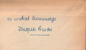 Exhumations . Brosse ( Jacques )