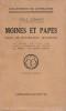 Moines et Papes Essai de psychologie historique . Gebhart Emile