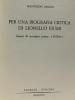 """Per una biografia critica di lionell fiumi - genesi di un'opera prima: """"polline"""". Anzini Manfredo"""
