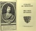 Oeuvres diverses. Bergerac Cyrano De