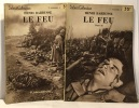 Le feu  tome un et deux --- select collection. Barbusse