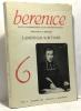 Berenice n°6 - rivista quadrimestrale di letteratura francese - Lamennais Scrittore - anno III novembre 1982. Bertozzi
