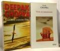 Vivre en rajeunissant + Comment connaître Dieu --- 2 livres. Chopra Deepak
