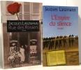 Rue des rosiers + L'empire du silence --- 2 romans. Lanzmann Jacques