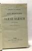 Les mémoires de Sarah Barnum avec une préface par Paul Bonnetain. Colombier Marie