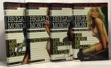 Brigades Mondaines n°29-32-35-36: Esclaves de la nuit +l'exécutrice + les fanatiques de la vidéo + les anges de Pigalle ---- 4 volumes. Brice Michel