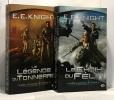 Le Choix du Félin (T.2) + La légende du tonnerre (T.3) --- Terre Vampire --- 2 volumes. E.E. Knight
