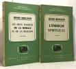 L'énergie spirituelle + Les deux sources de la morale et de la religion --- bibliothèque de philosophie contemporaine. Bergson Henri