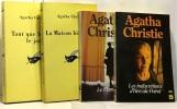 Miss marple au club du mardi + le train de 16H50 + Le cheval à bascule + le flux et le reflux --- 4 volumes. Agatha Christie