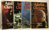 Tant que brillera le jour + La maison biscornue + les indiscrétions d'Hercule Poirot + le flambeau --- 4 romans. Agatha Christie