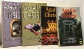 La troisième fille + l'homme au complet marron + les quatre + témoin à charge --- 4 romans. Agatha Christie