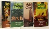 La dernière énigme  le secret de Chimneys  Mr Parker Pyne  Associés contre le crime --- 4 romans. Agatha Christie