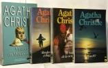 Le couteau sur la nuque + une poignée de seigle + un  deux  trois... + la mystérieuse affaire de styles --- 4 romans. Agatha Christie