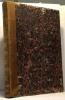 Chateaubriand Illustré  plusieurs numéros compilés en un volume: Atala  Voyage à Clermont  Les Natchez  Mackensie  Analyse raisonnée  Etudes ...