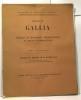 Extrait de Gallia --- fouilles et monuments archéologiques en France métropolitaine - Tom V 1947 fascicule 1 --- résumé d'un rapport de M. Maurice ...