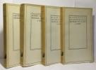 Pensées (tome un et deux) + Les provinciales (tome un et deux) --- 4 volumes. Blaise Pascal