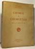 Chimie et chimistes - préface de Louis de Broglie. Massain R