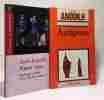 Pièces roses + Antigone --- 2 livres. Anouilh Jean  Pellissier Cécile