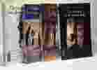 Le Pharaon Noir + Barrage sur le nil + Le voyage initiatique + Le moine est le vénérable --- 4 livres. Jacq Christian