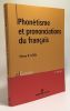 Phonétisme et prononciations du français. Léon Pierre