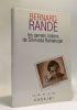 Les carnets Indiens de Srinivasa Ramanujan. Bernard Randé