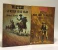 Un homme seul + Kate je reviendrai + Alerte aux hors-la-loi + Requiem pour deux trompettes + le moulin du Rio Dulces --- 5 romans de la collection ...