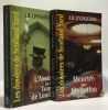 L'assassin de la Tour de Londres + Meurtre sur invitation --- 2 livres coll. Les dossiers de Scotland Yard. J. B Livingstone