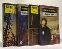 Le goût du risque + Espèce protégées + Amour en sept lettres + fausse route --- 4 livres. Ruth Rendell