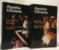 Miss Marple au club du mardi; Le club du mardi continue + Passager pour Francfort; Cinq heures vingt-cinq --- 2 livres. Christie Agatha  Durastanti ...