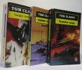 Danger immédiat + Politika + Tempête rouge --- 3 livres. Tom Clancy