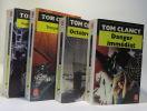 Sans aucun remords + Danger immédiat + Tempête rouge + Octobre rouge --- 4 romans. Clancy Tom