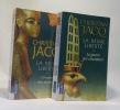 La Reine Liberté --- T.1: L'Empire des Ténébres T.2: La guerre des couronnes. Christian Jacq
