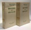 Histoire des français - tome un et deux ---collection histoire. Gaxotte Pierre