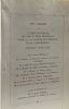 Sauvegarde de l'enfance -- 1 à 4 Janvier - Avril 1957 -- 8e congrès de l'U.N.A.R. Toulouse octobre 1956 - la formation professionnelle et la mise au ...