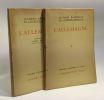 L'Allemagne - tome un et deux --- préface de Albert Rivaud - éditions d'histoire et d'art. Bainville Jacques